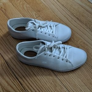 Lacoste white sneakers in size 6.5 US